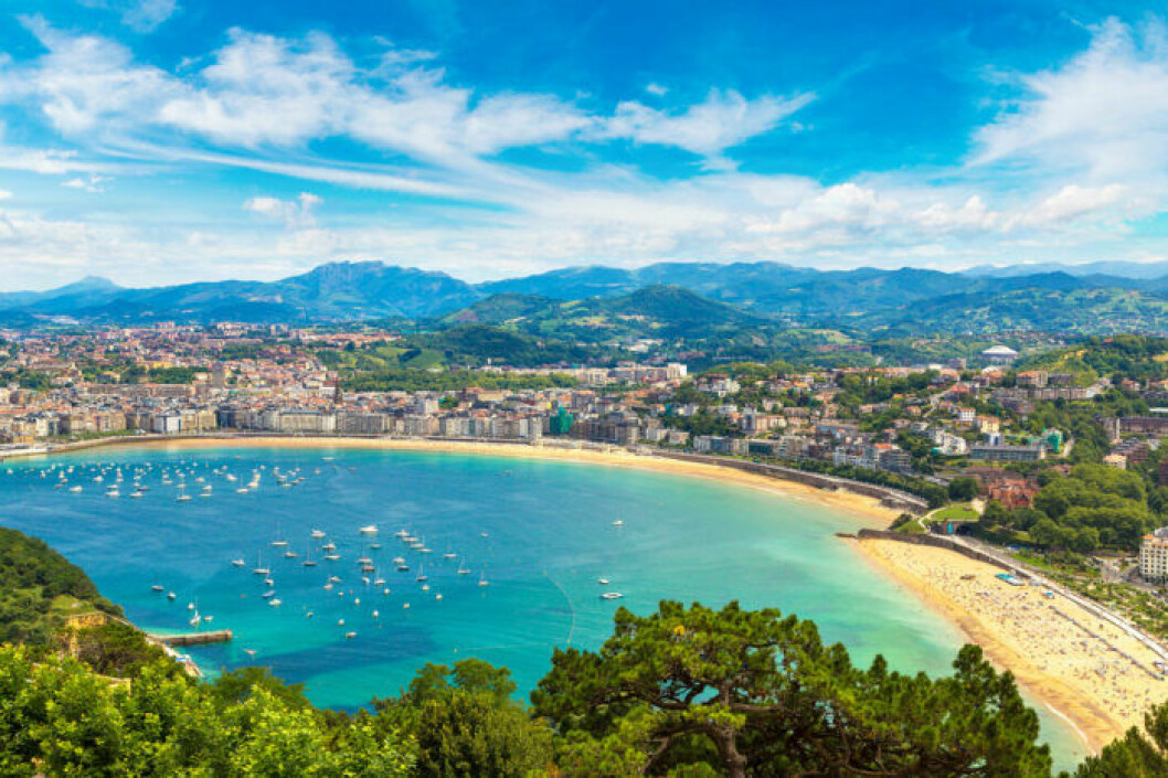 Strandtips: La Concha Beach, Spanien