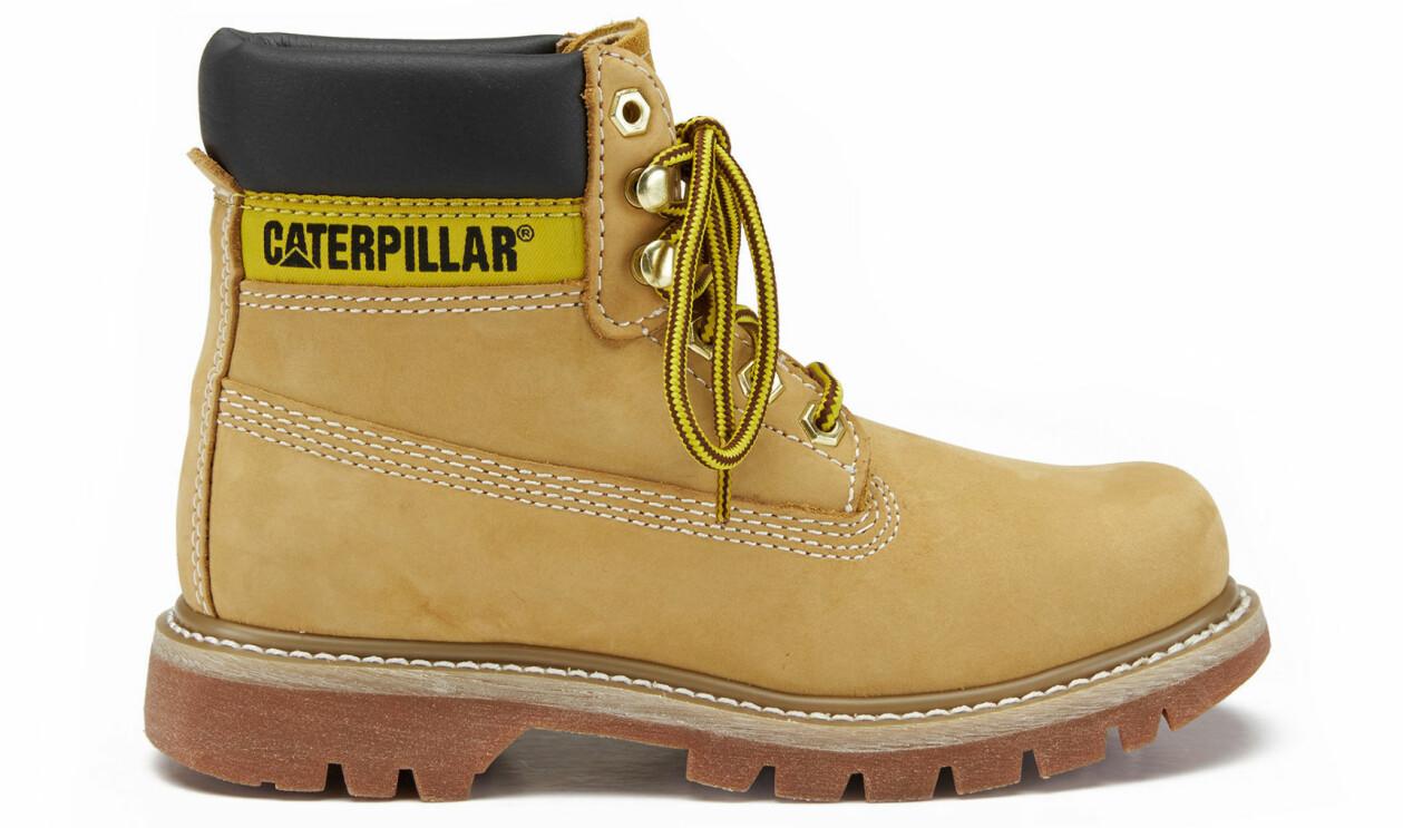 Lejongula Colorado-boots från Caterpillar.