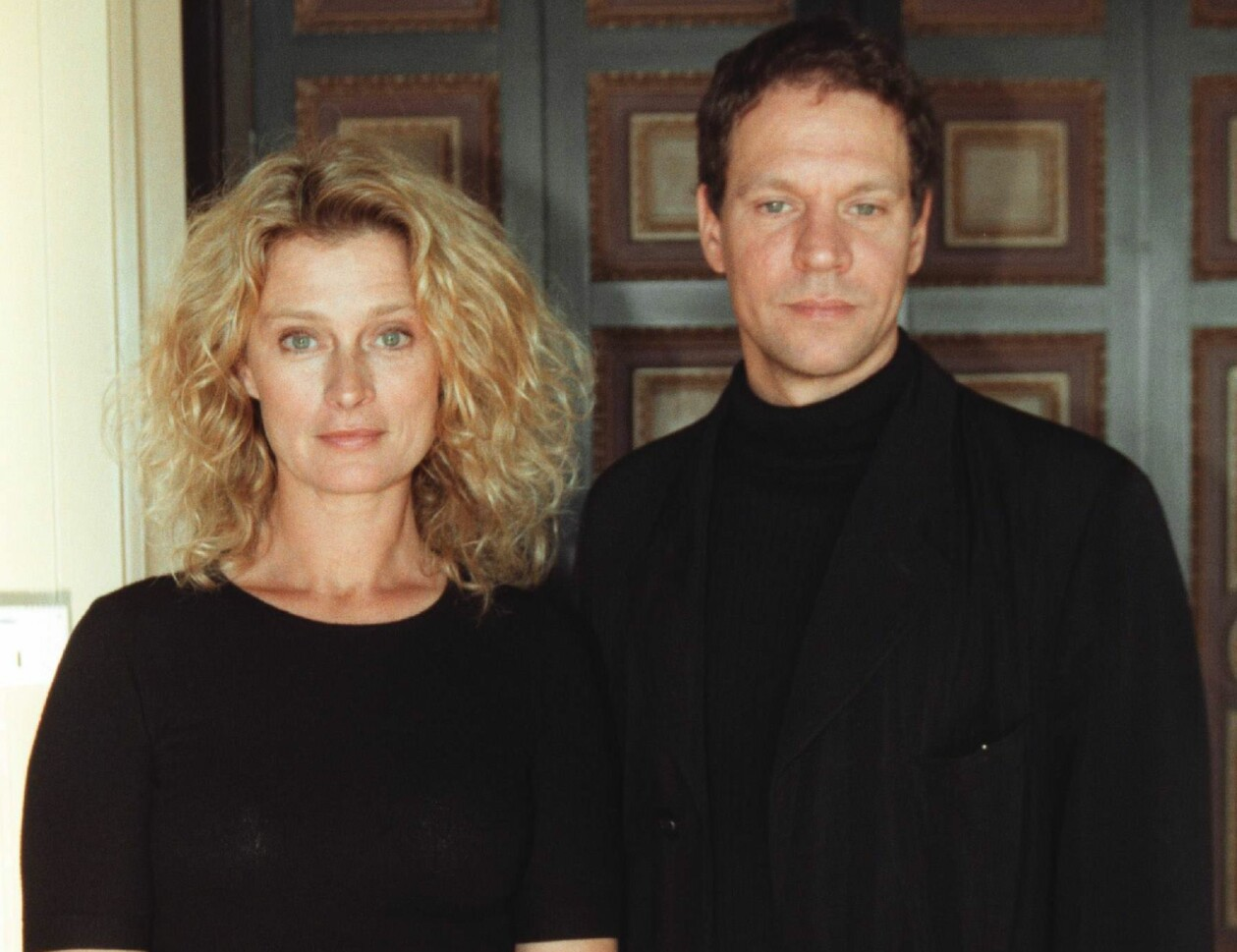 Lena Endre och Thomas Hanzon 2000.