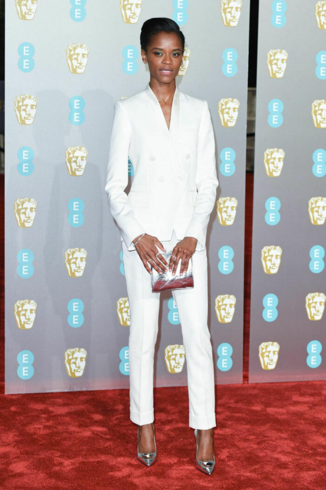 Letitia Wright på BAFTA 2019