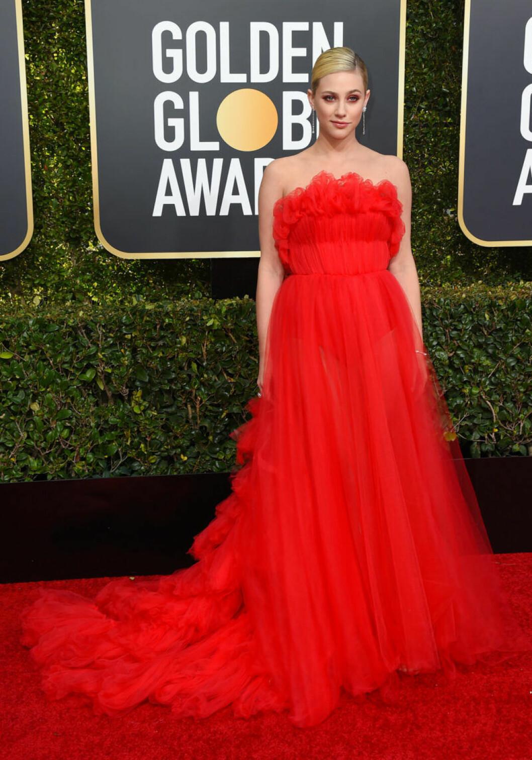 Lili Reinhart Golden Globe 2019