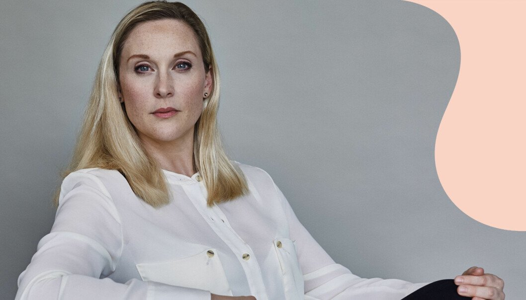 """Journalisten och författaren Lisa Bjurwald, aktuell med boken """"BB-krisen: Sveket vid livets början""""."""