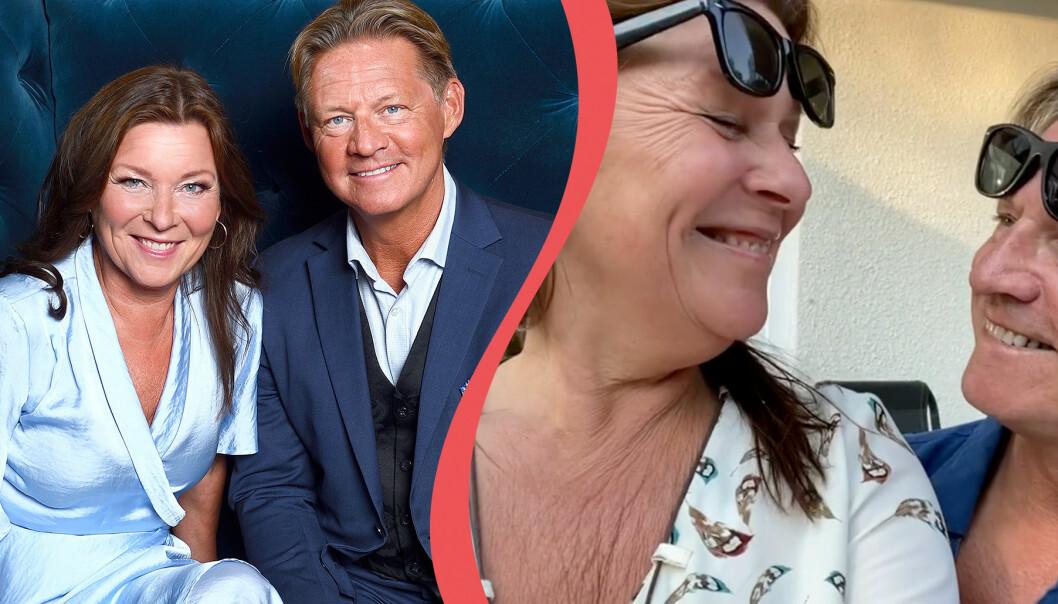 Lotta Engberg och Mikael Sandström blev ett par i början på 2020. Nu visar sig paret i en gemensam video på Doktor Mikaels Instagram.
