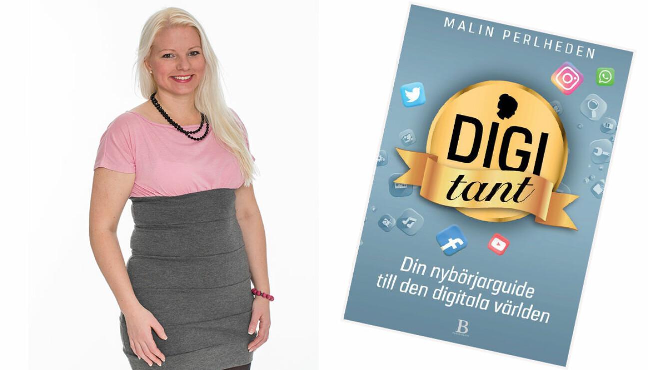 Malin Perlheden och boken Digitant