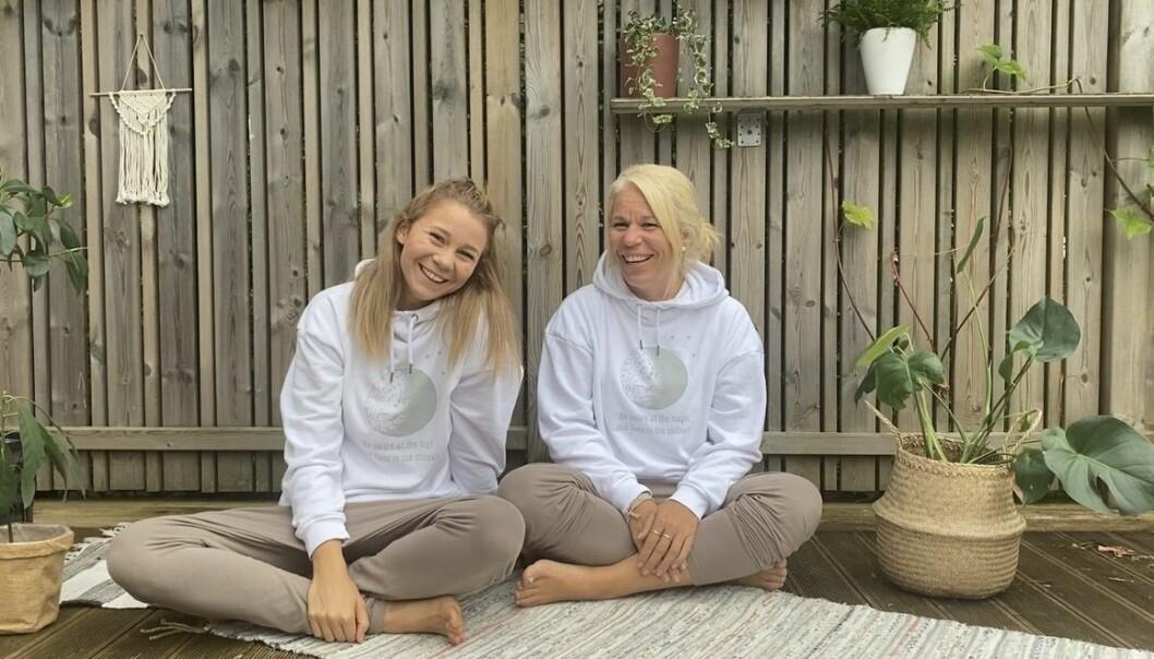 Matilda och Anna Lundgren driver Studio stilla tillsammans i Alingsås.