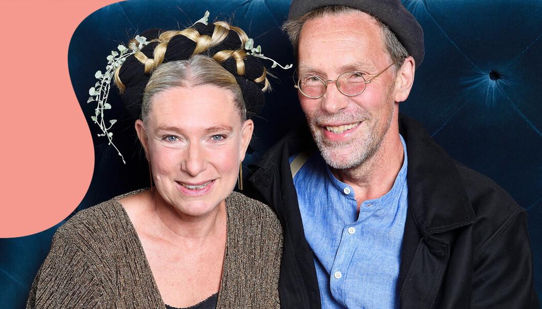 Tv-personligheterna Marie och Gustav Mandelmann.