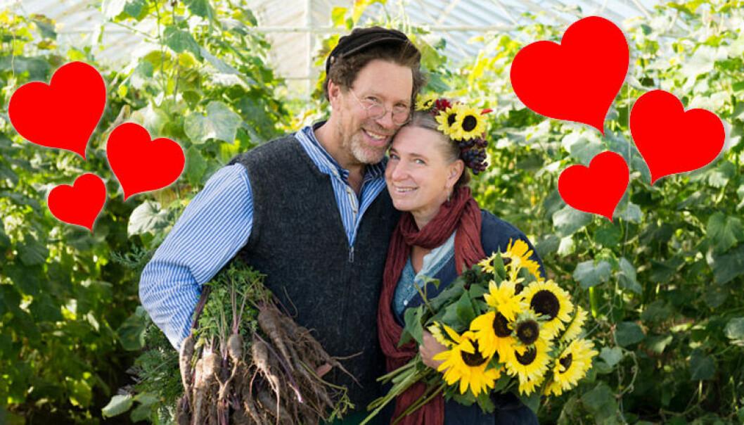 För Marie och Gustav Mandelmann på Mandelmanns gård är varje dag alla hjärtans dag.