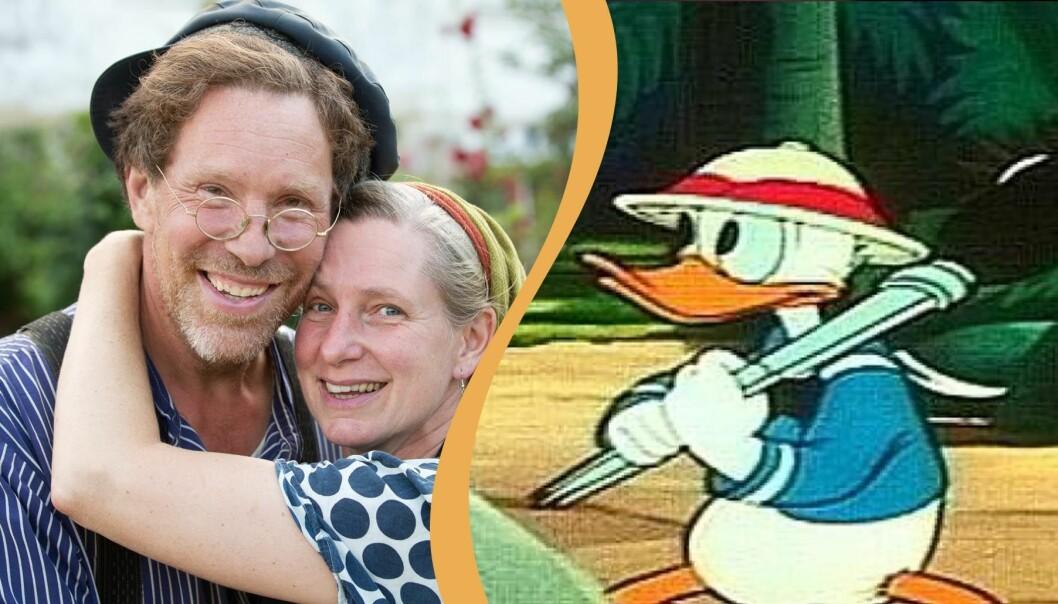 Mandelmanns och Kalle Anka.