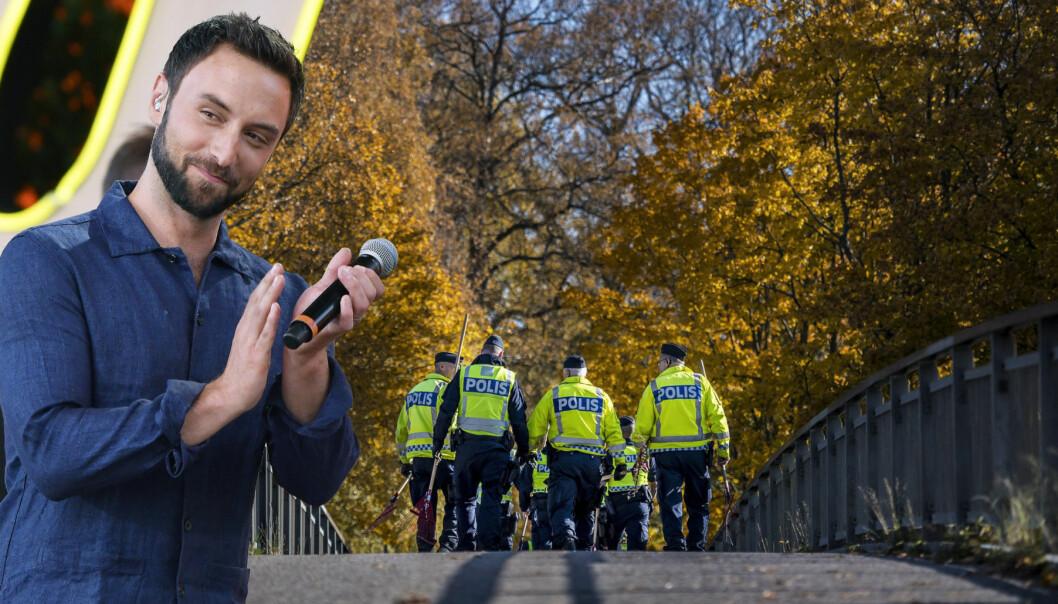 Måns Zelmerlöw fick tillbaka sin telefon med hjälp av polisen