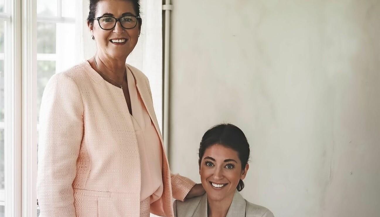 Mor och dotter, Marléne Eriksson och Desirée Eriksson, driver Instagramkontot @husmorstipset och har skrivit boken Ren städglädje om att städa miljövänligt