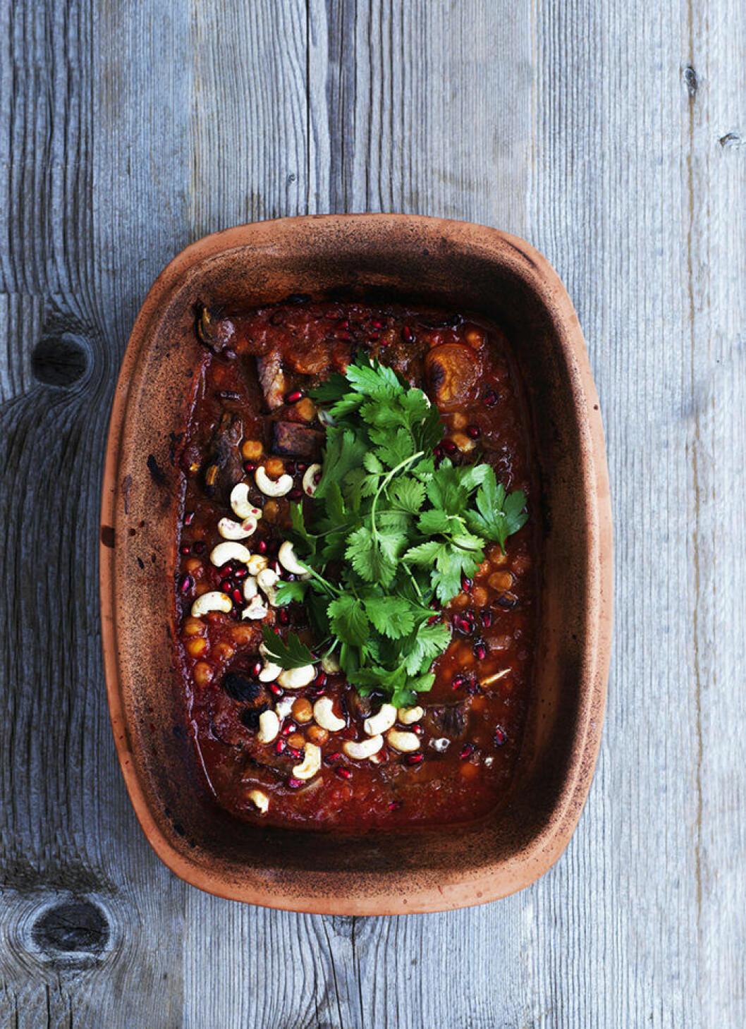 marockansk oxgryta - recept