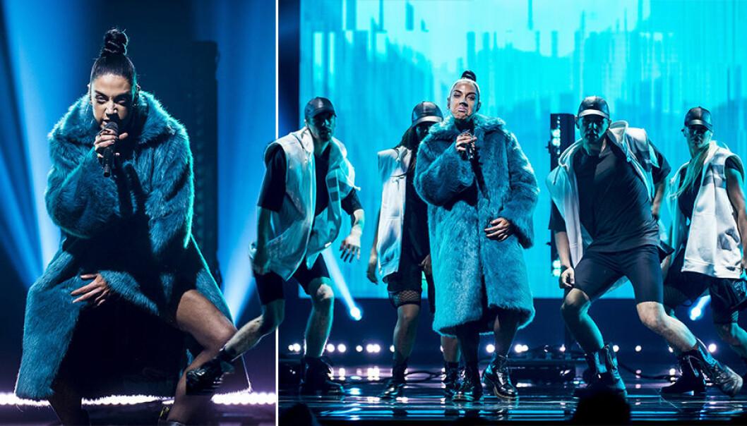 Här tolkar Maxida Märak Vill ni se en stjärna i Melodifestivalen 2018