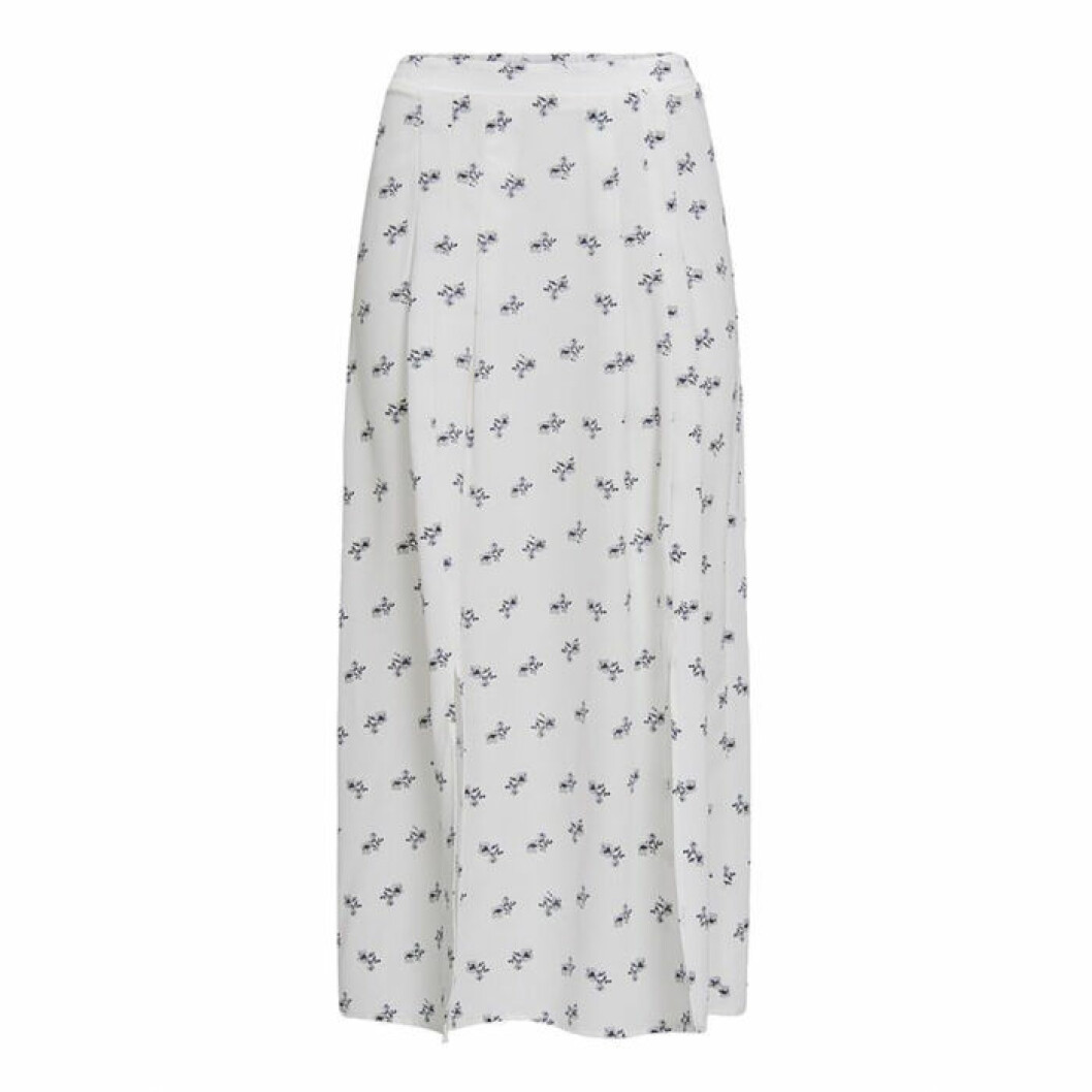 Medellång kjol