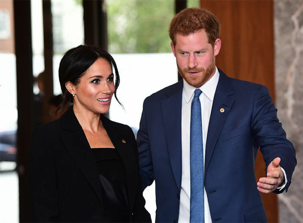 Meghan Markle och prins Harry får barn i vår