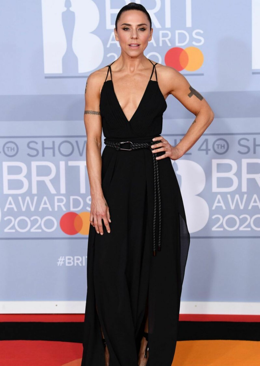 Melanie Chisholm på Brit Awards 2020.