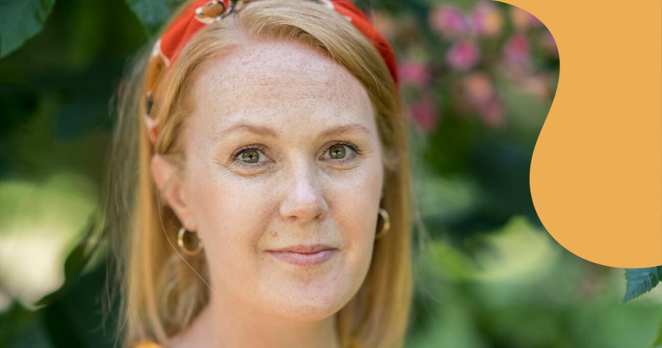 Porträtt av Mia Rosengren som berättar hur hon misshandlades av sin dåvarande sambo.