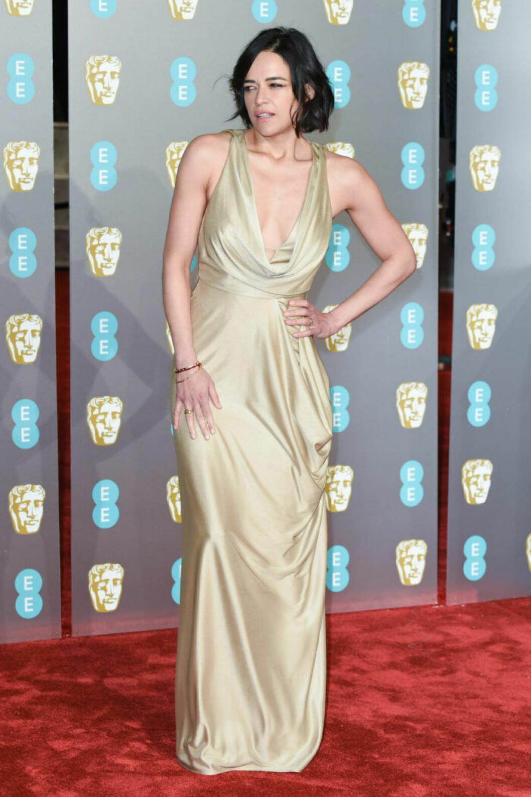 Michelle Rodriguez på BAFTA 2019