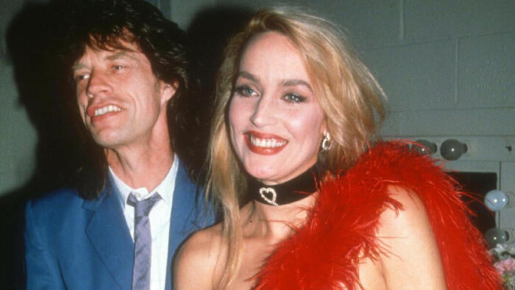Jerry Hall och Mick Jagger