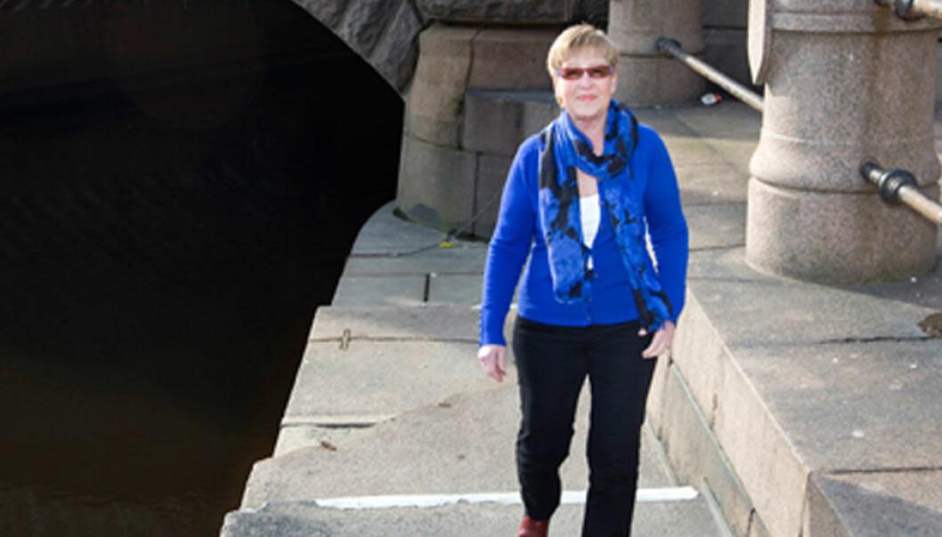Mona Eriksson drabbades av gikt