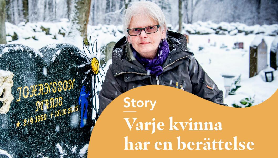Puffbild för reportage om modet på Marie Johansson