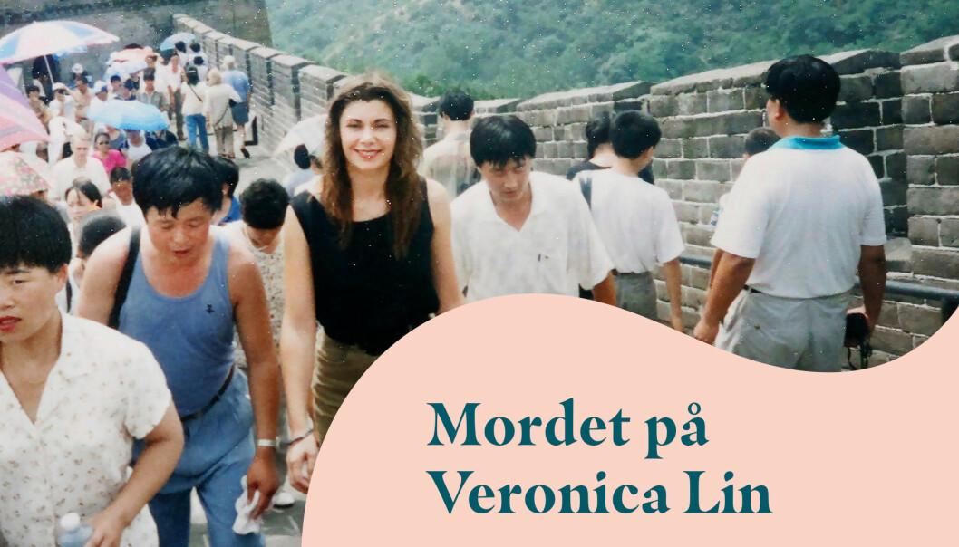 Veronica Lin på kinesiska muren