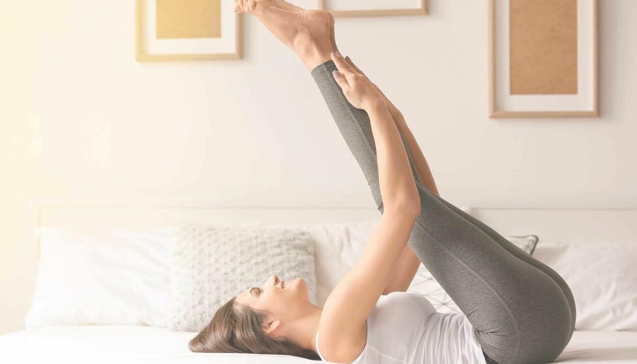 Bra övningar att göra direkt på morgonen för att orka med hela dagen.