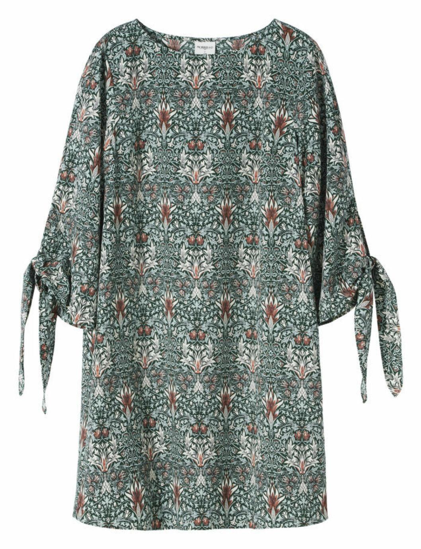 Mönstrad klänning William Morris H&M
