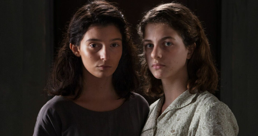 My-Brilliant-Friend-Lila (Gaia Girace)-och-Elena (Margherita Mazzucco)