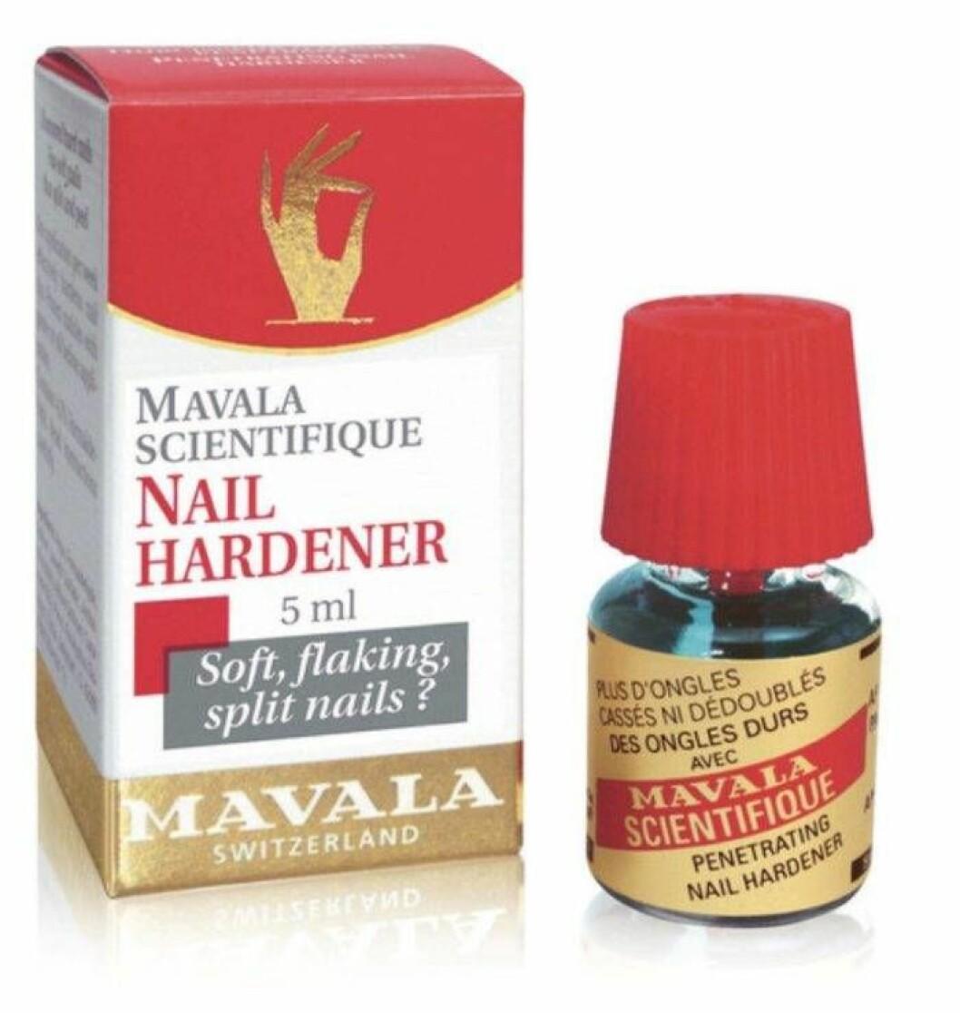 Nagelhärdare från Mavala för sköra naglar