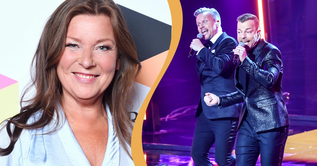Lotta Engberg och Arvingarna står båda för låtar som gett namn till listan