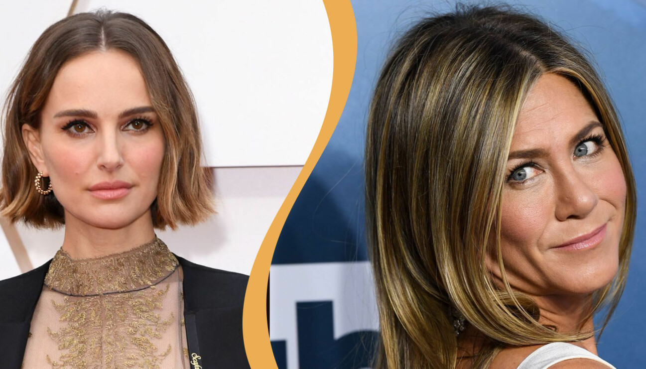 Natalie Portman och Jennifer Aniston