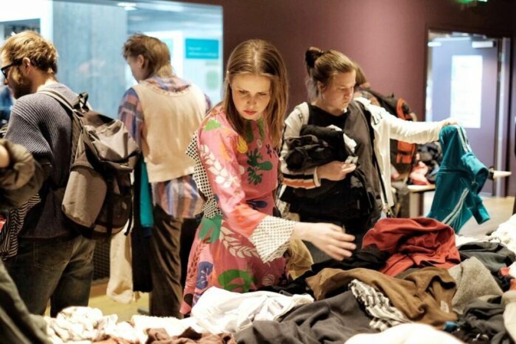 Sveriges största klädbytardag