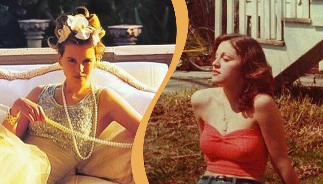 Nicole Kidman och Madonna som unga.