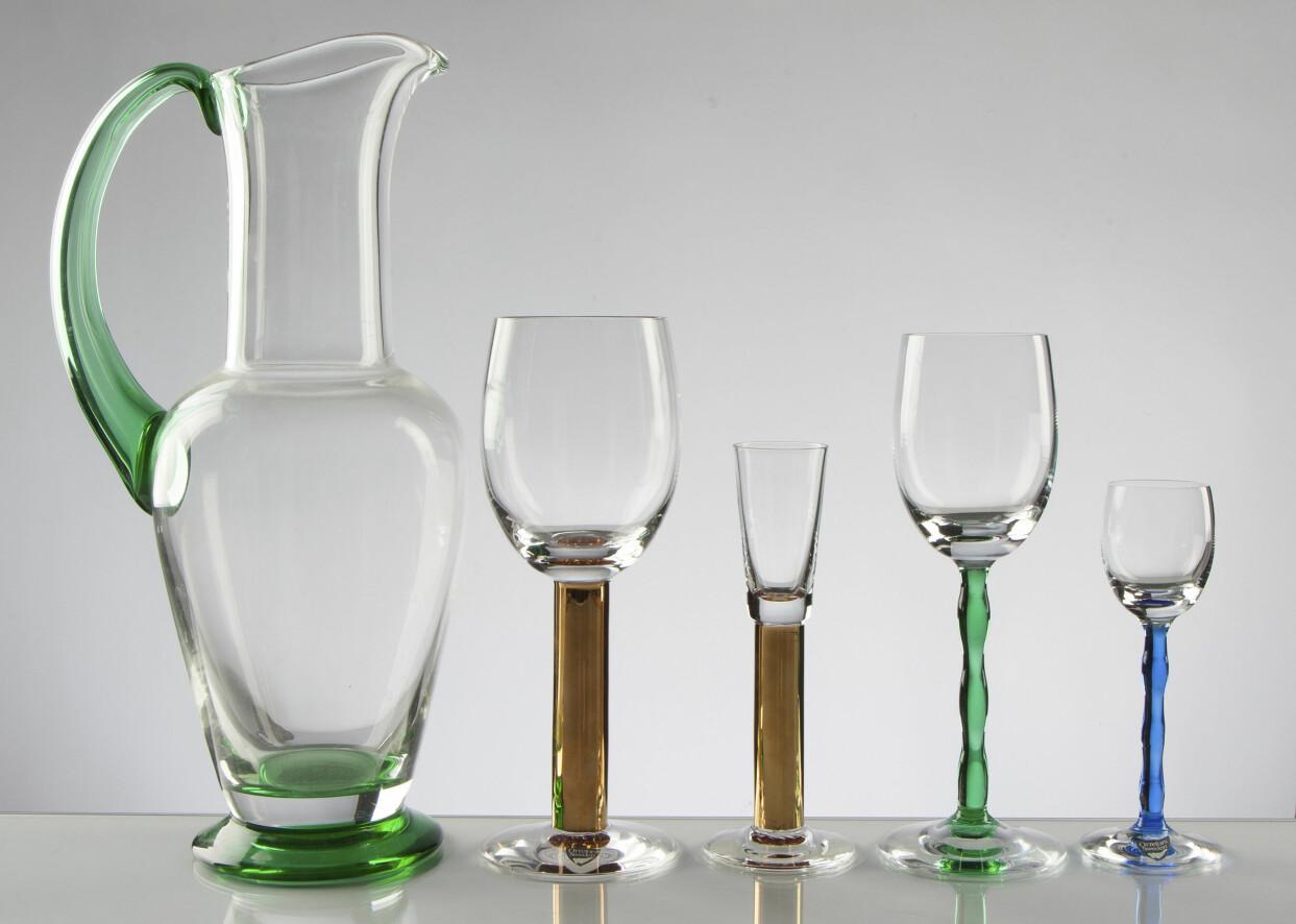 Nobelservisens glas.