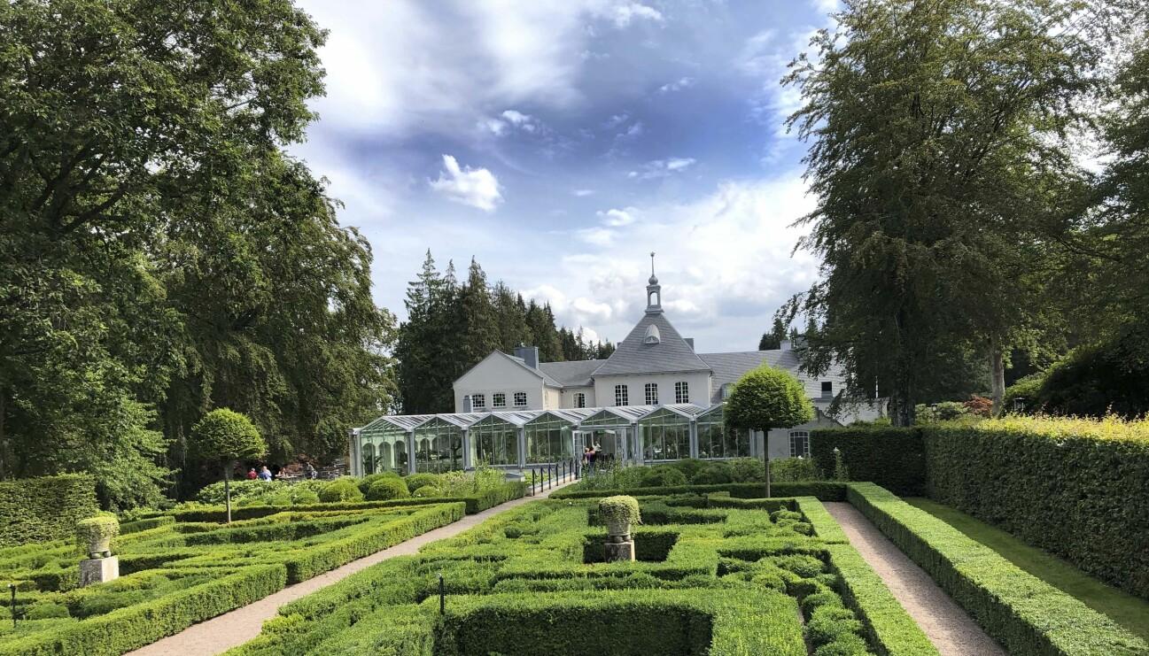 Norrvikens trädgårdar i Båstad.