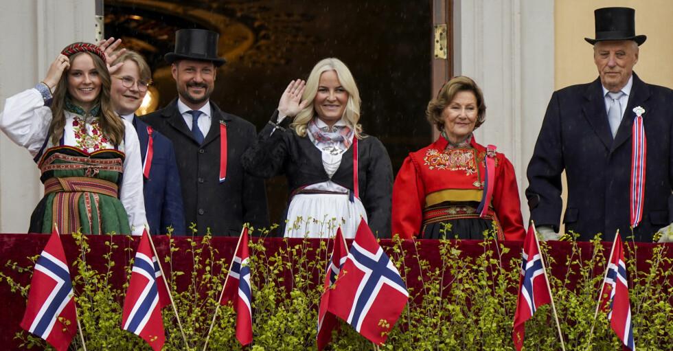 Norska kungafamiljen firar nationaldagen 17:e maj