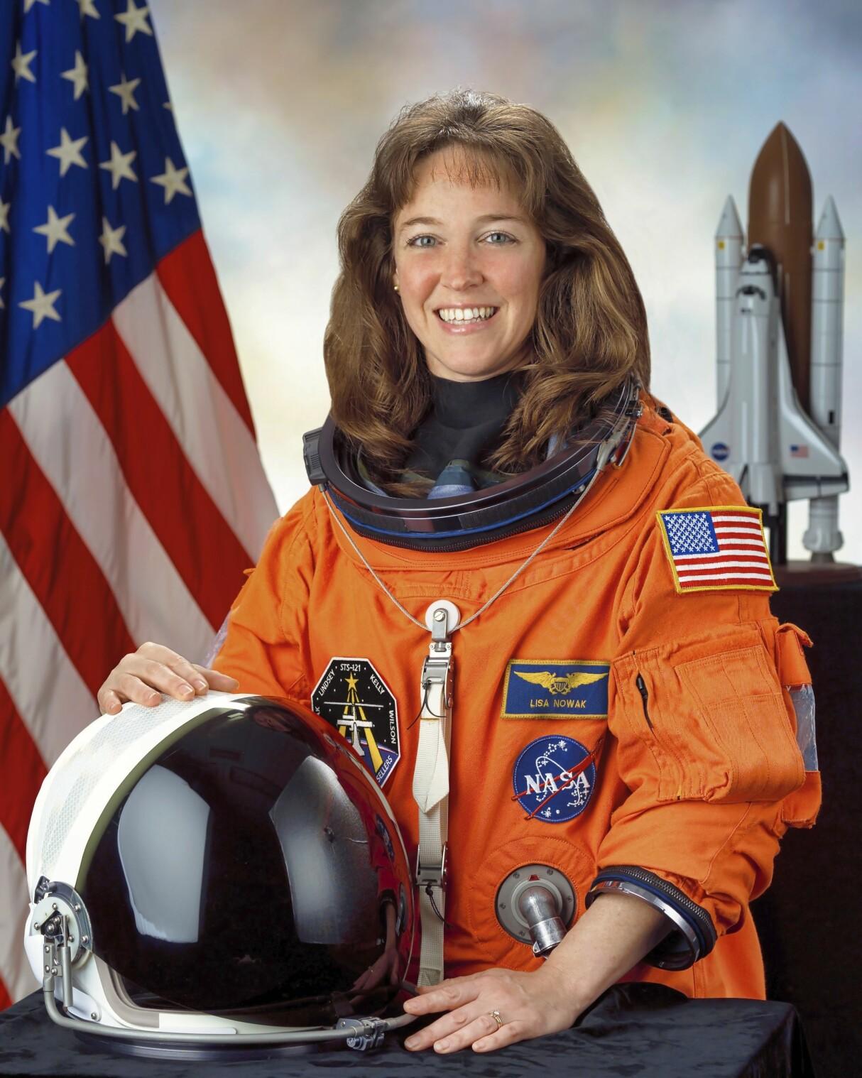 Astronauten Lisa Nowak överföll rivalen