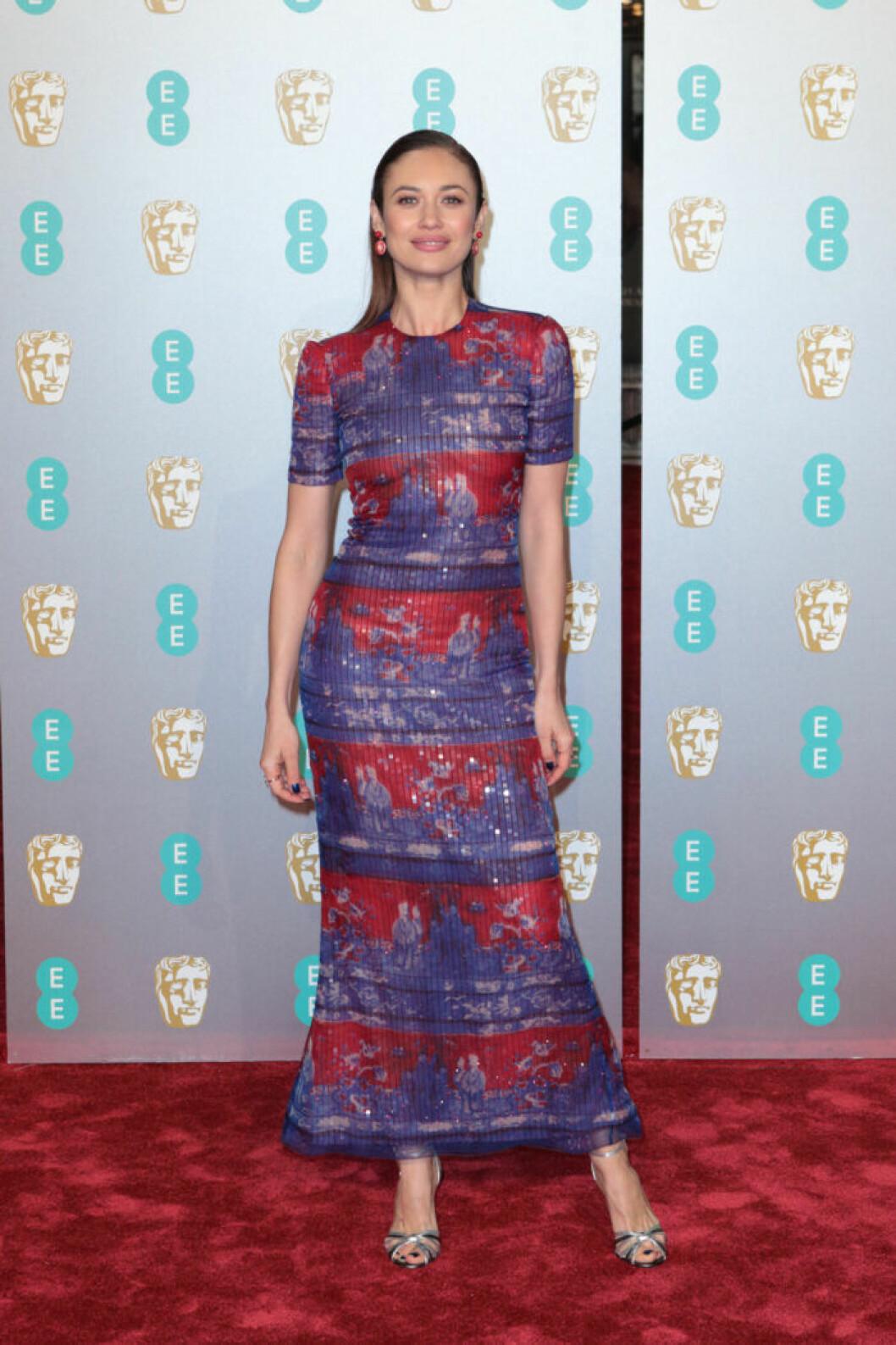 Olga Kurylenko på BAFTA 2019