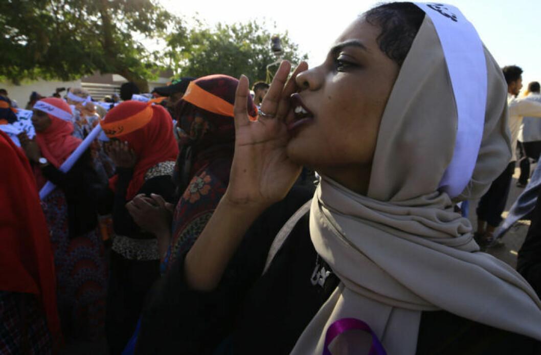 Unga kvinnor i Sudan spelade stor roll i störtandet av presidenten Omar al-Bashir.