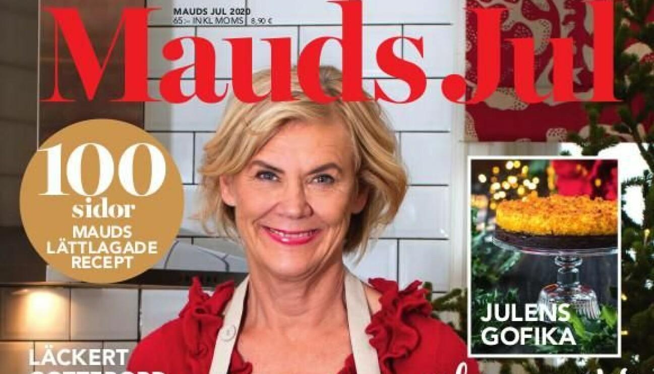 Omslaget till tidningen Mauds Jul med Maud Onnermark.