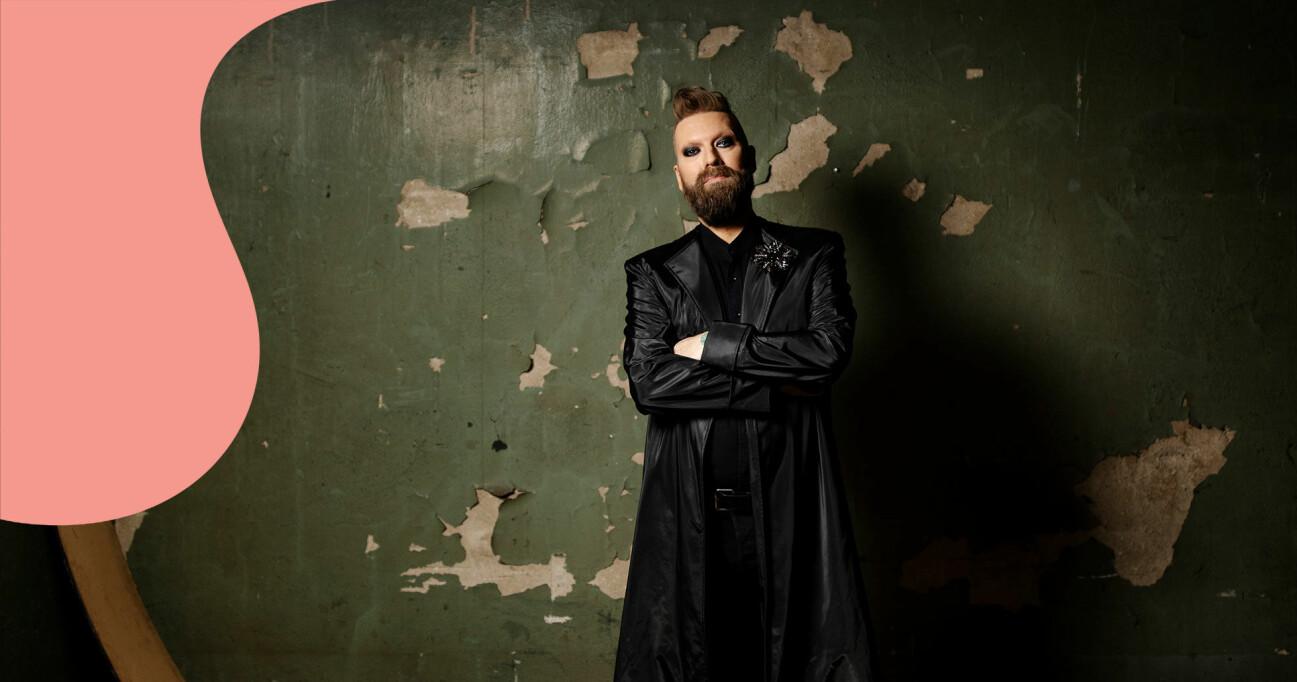 Operasångaren Rickard Söderberg.
