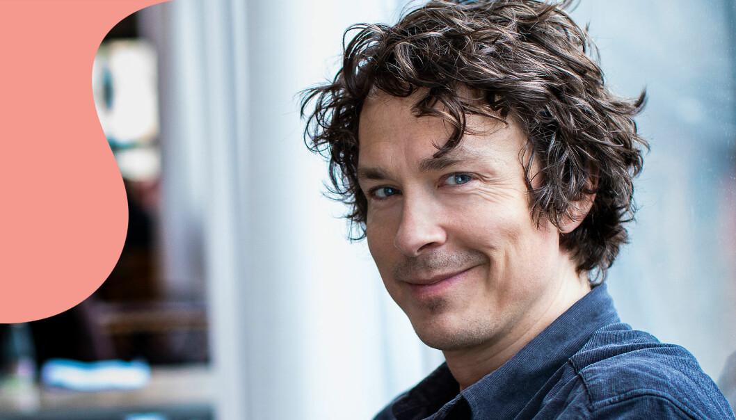 Skådespelaren Oscar Töringe fotograferad i Årsta.