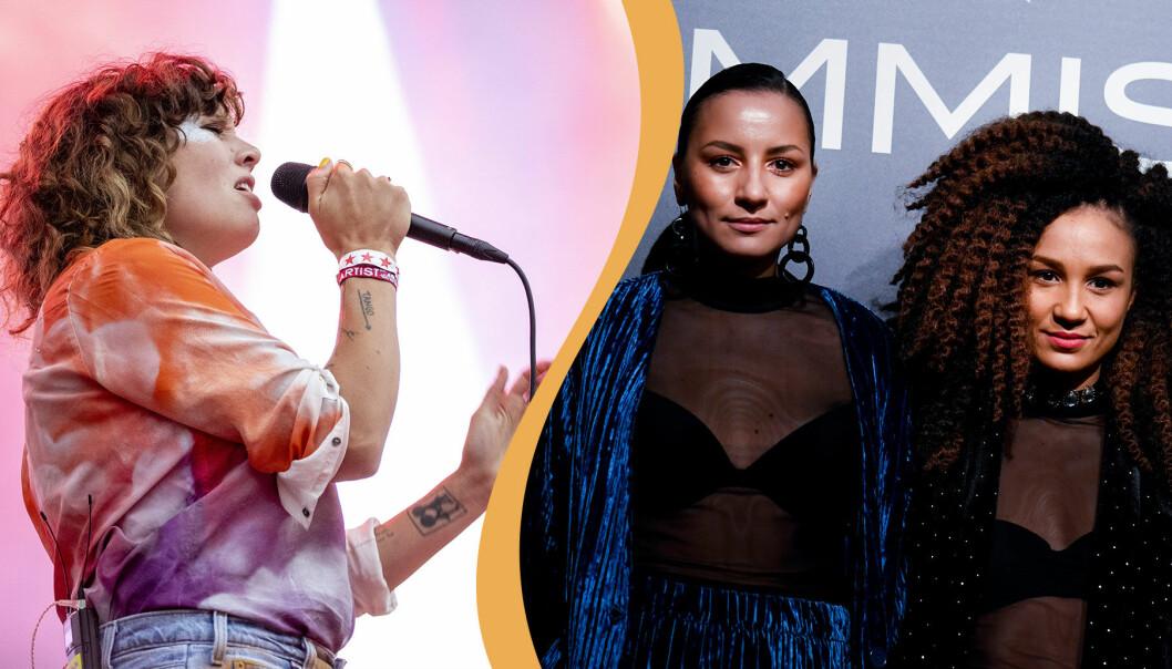 Amason och Vaz nya husband i På spåret i SVT 2019/202.