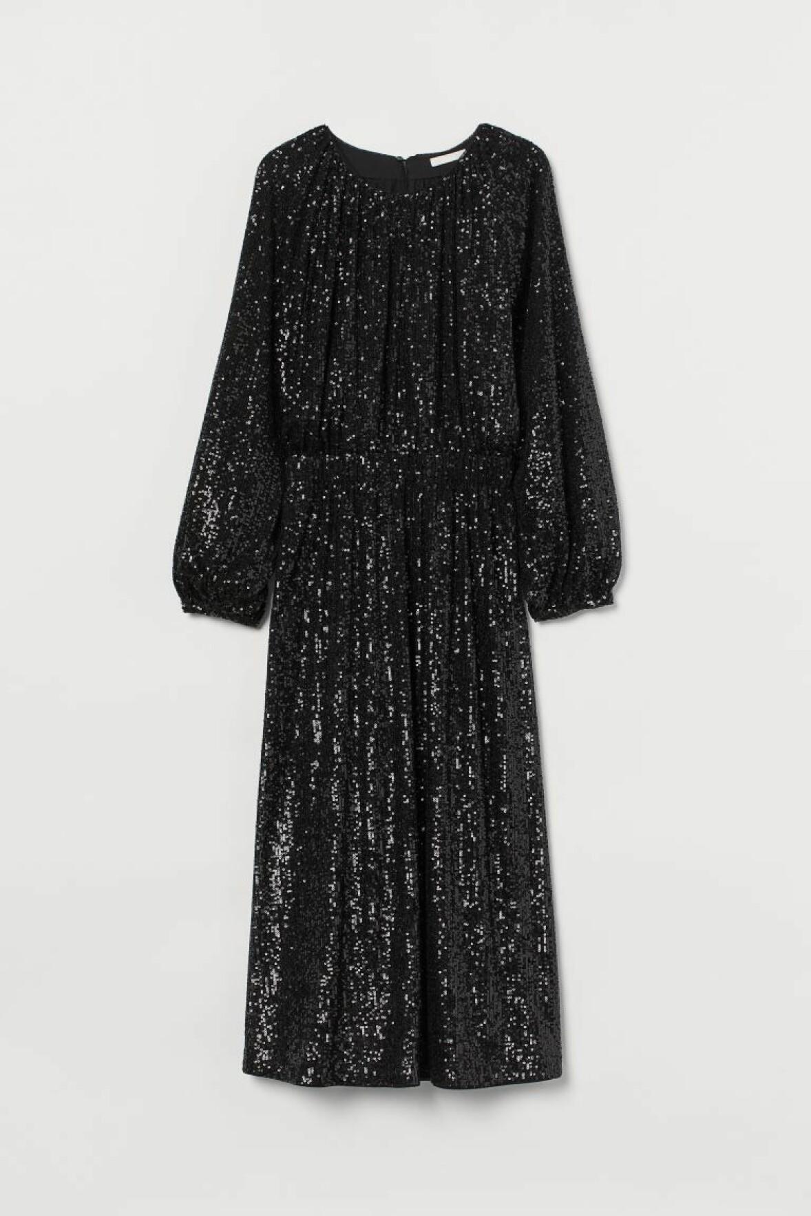 paljettklänning H&M