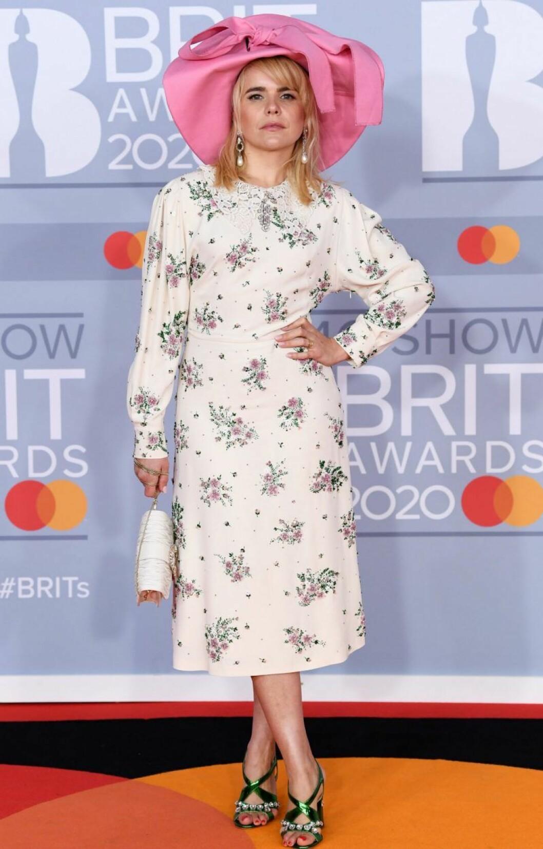 Paloma Faith på Brit Awards 2020.