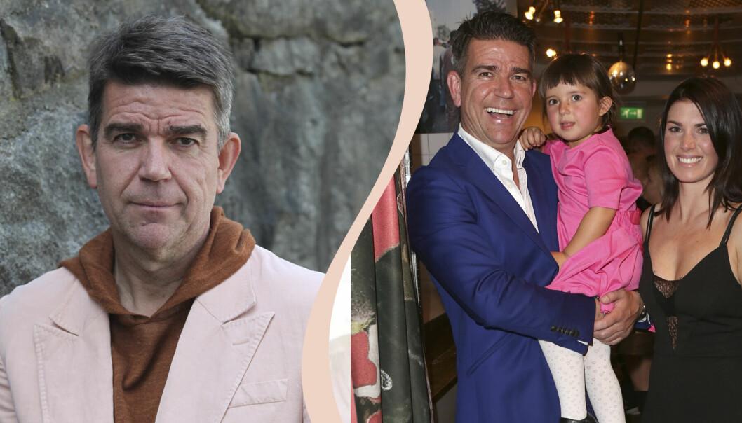 Sportjournalisten Patrick Ekwall förlorade sin fru Hannah Ekwall i cancer. Nu skapar han ett nytt liv tillsammans med dottern Tindra, 8 år.