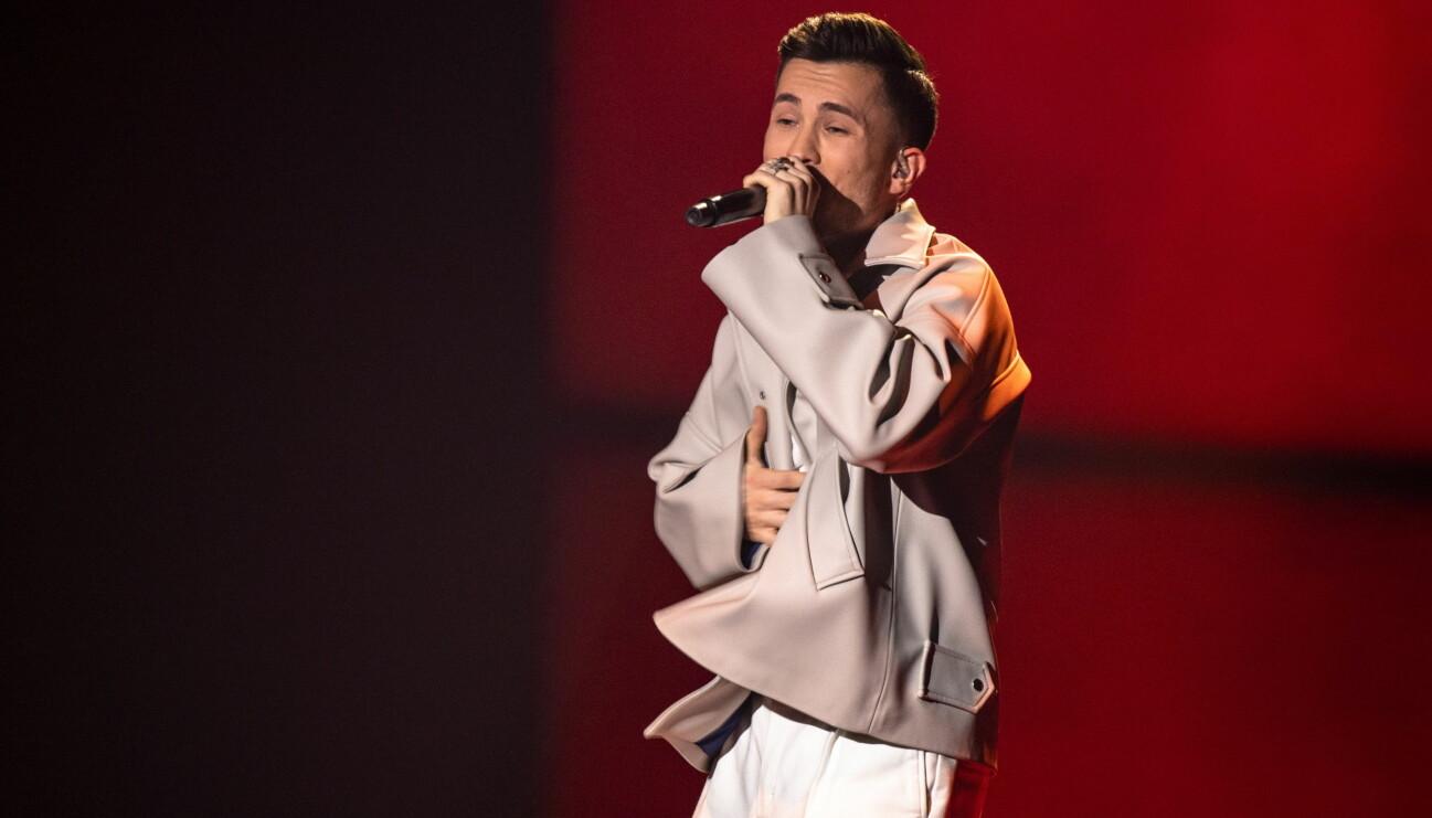Paul Rey i Melodifestivalen
