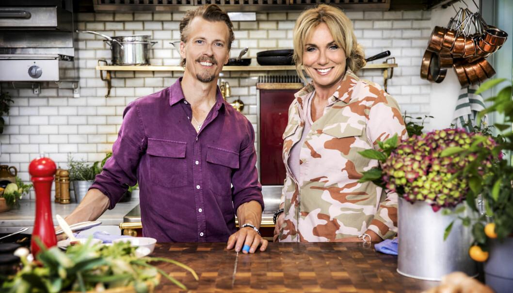 Paul Svensson och Anne Lundberg gör nytt grönt matprogram – Den gröne slaktaren.