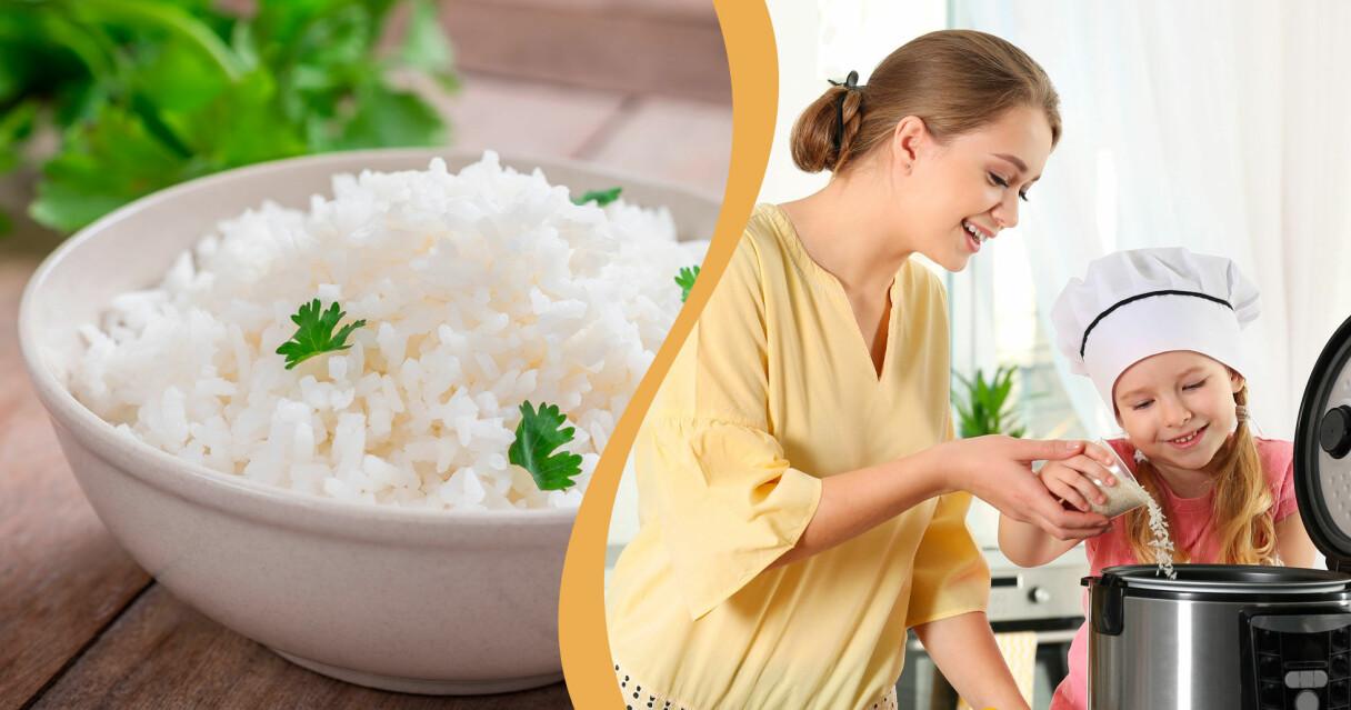 Få perfekt ris varje gång populära riskokare