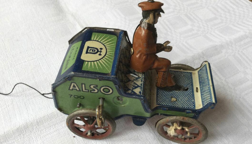 Antik leksaksbil.